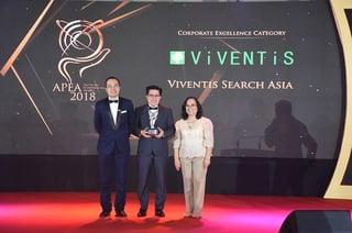 Viventis 20th Anniversary APEA Corporate Excellence Awards 2018