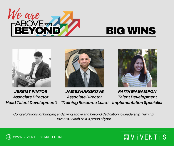 Viventis Employee Awards