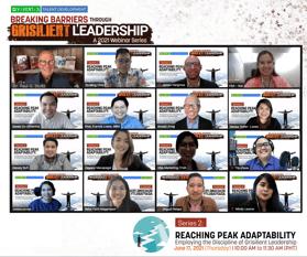 Viventis Breaking Barriers through Grisilient Leadership Webinar Series 2
