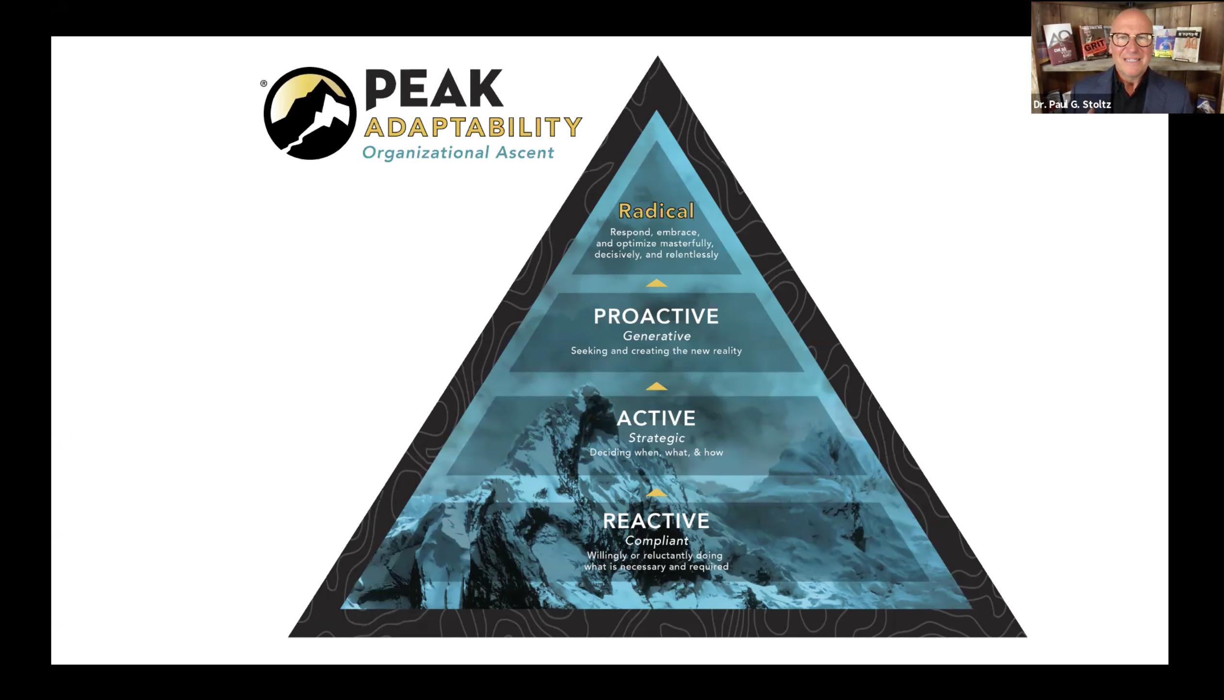 What is radical or PEAK Adaptability?