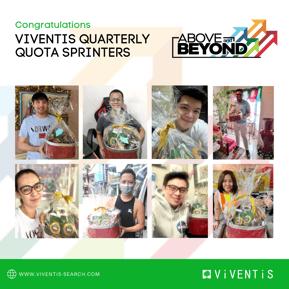 Viventis Employee Awards_Quarterly Quota Sprinter