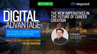 Viventis The Digital Advantage 2018 Singapore