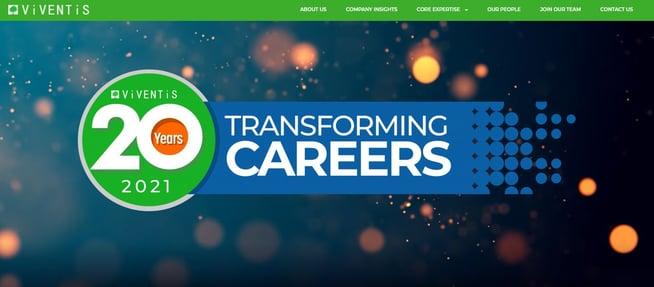 Viventis Website Revamp 2021