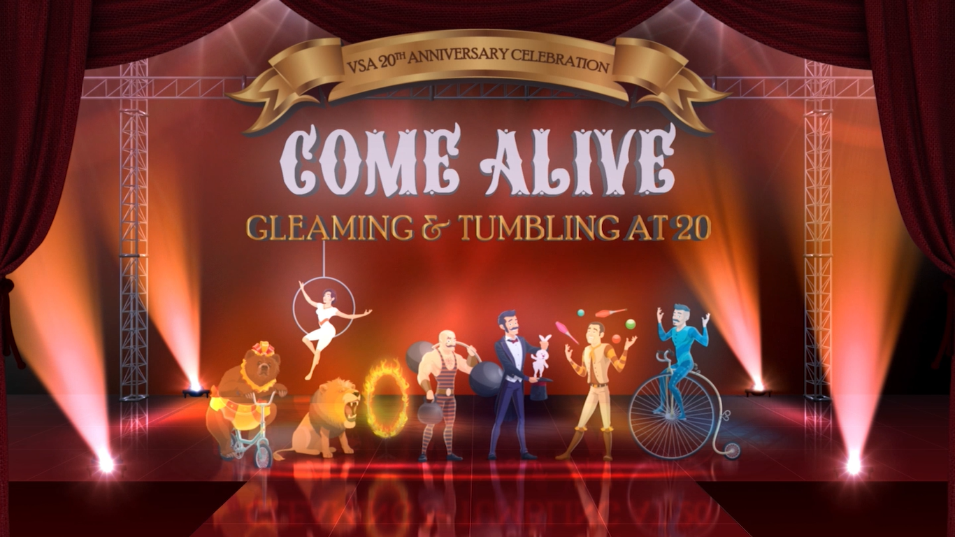 Come Alive: Gleaming and Tumbling at 20